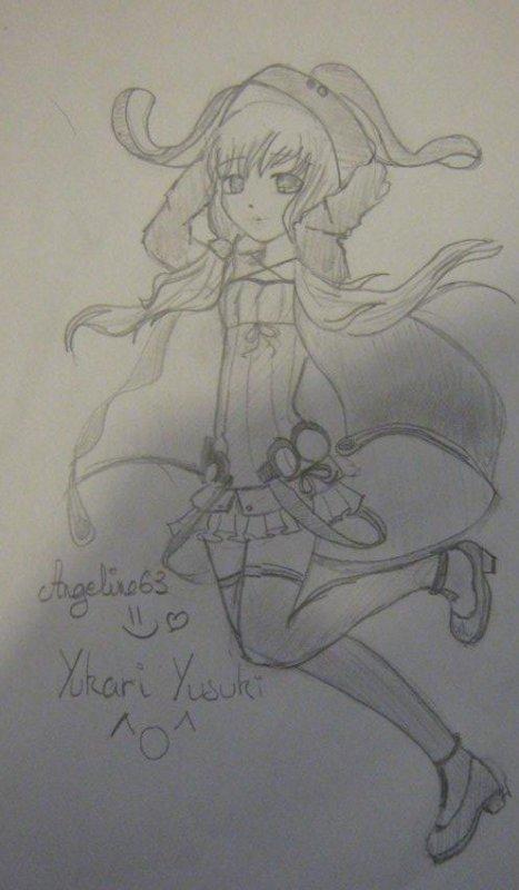 Dessin n4 (yuzuki yukari)