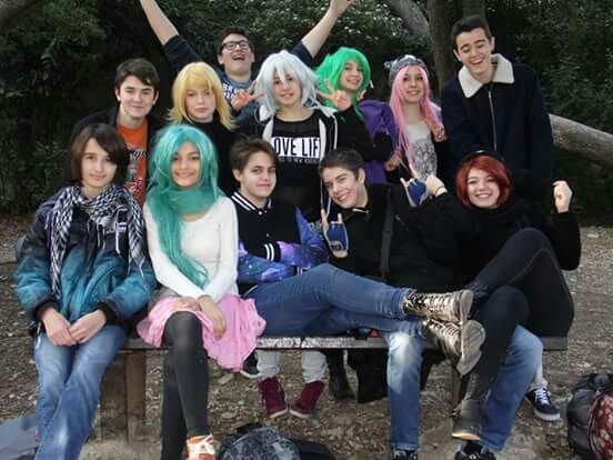 KONICHIWA WORLD Notre groupe