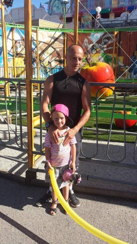 Moi et ma fille chérie