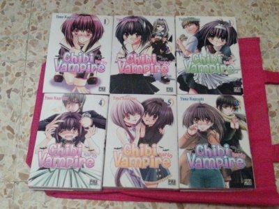 Vente de Neko n°1~Tome1à 6 Karin Chibi Vampire~