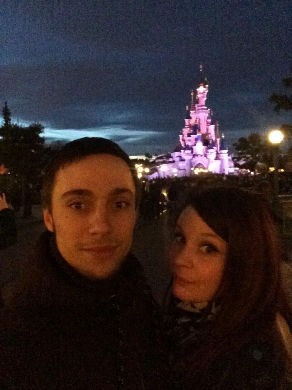 Mon amour et moi @ Disneyland Paris :-)