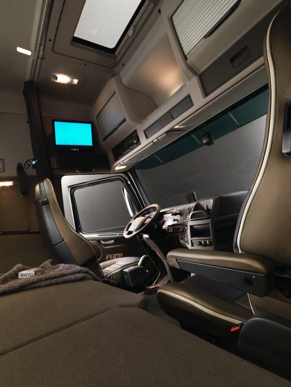interieur cabine volvo fh16