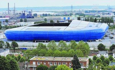 Amical >>> Inauguration du Stade du Havre