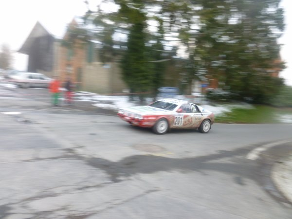 rally des  ardennes