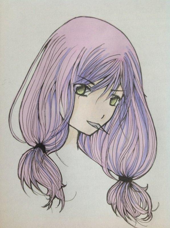 Coloriage de Inori