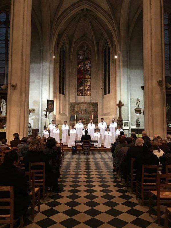 Les Petits Chanteurs de Nogent-sur-Marne - Les Moineaux du Val-de-Marne -  Concert du vendredi 1er avril