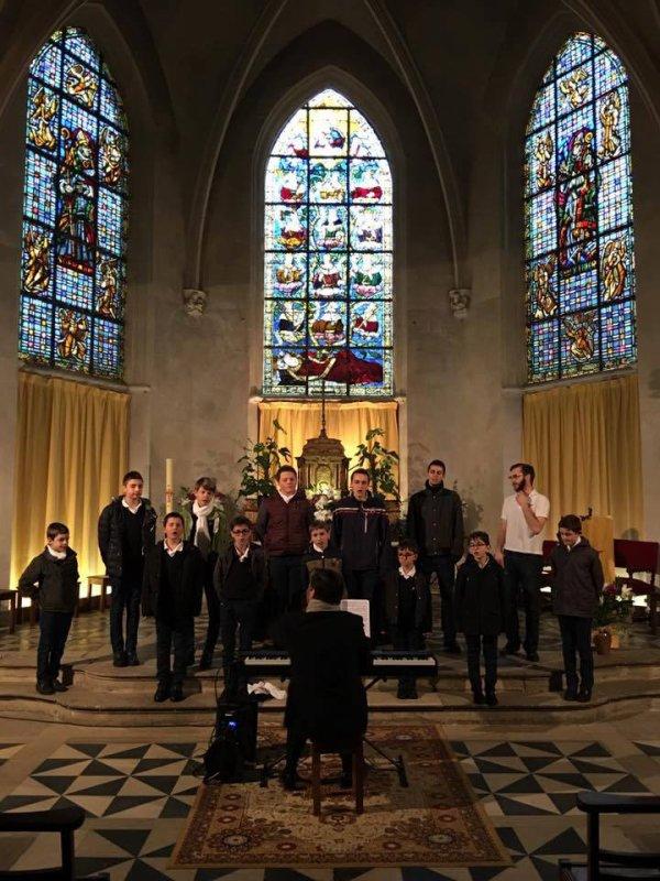 Les Petits Chanteurs de Nogent-sur-Marne - Les Moineaux du Val-de-Marne- Sully sur Loire Avril 2016