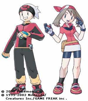 Personnage de la version rubis ou saphir - Pokemon version rubis evolution ...