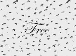 """""""Je suis libérée de toi.""""             I'm free."""