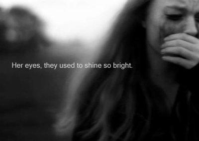 Je ne pourrais pas te voir si j'ai la vue brouiller par les larmes...