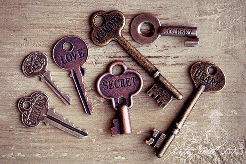 Chaque clefs ouvrent un morceaux de moi.