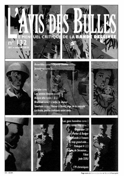 L'avis des bulles n° 132 - octobre 2010