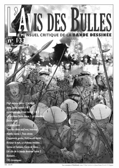 L'avis des bulles n° 133 - Novembre 2010