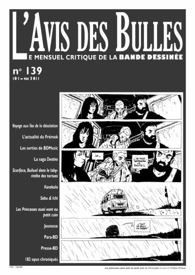 L'avis des bulles n° 139 - mai 2011