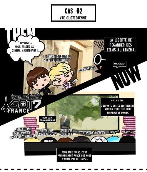 GOTOON || Chapitre 4 : Le lieu sûr des GOT7, Avant & Après