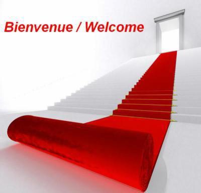 Bienvenue et bonne visite à toutes et à tous!