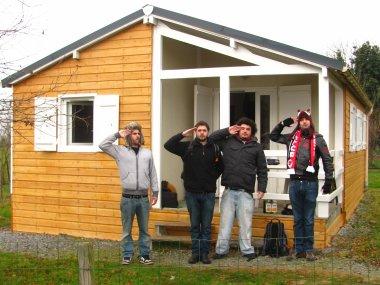 Kevin, Alex,Laurent & Tristan