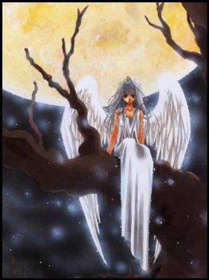 l'ange de la lune