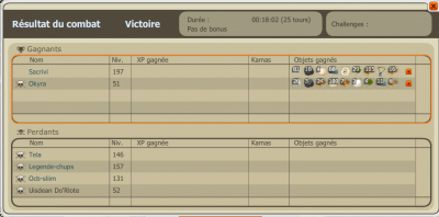 Solotage de Sacrivi plus record a la puntion :)