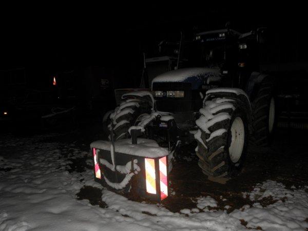 le nw et le someca sous la neige