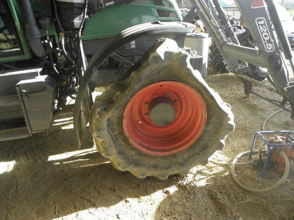 changements de pneu pour le fendt