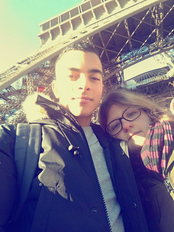 Avec mon chéri 💘💘💘