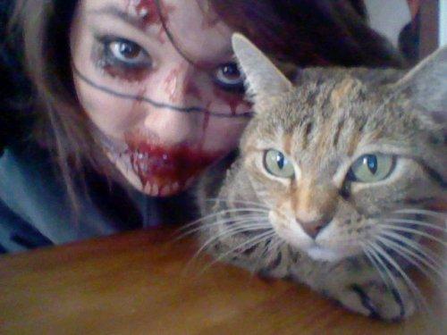 Bref, j'ai fêté Halloween. :3
