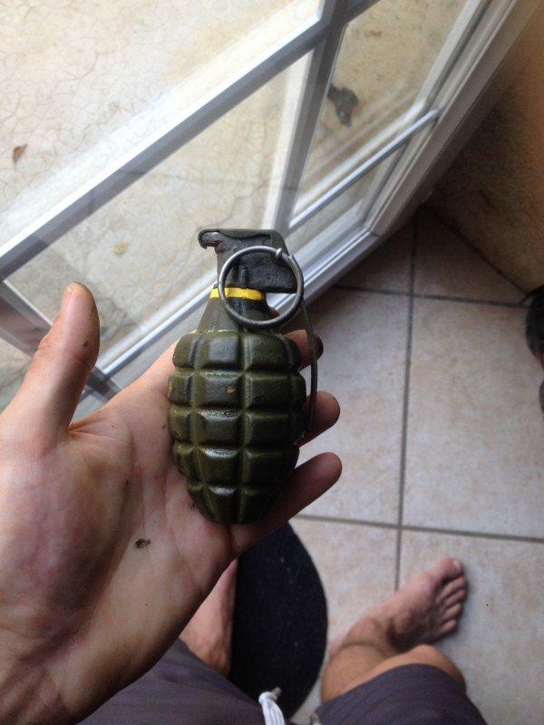 Grenade us mk2 démilitarisée