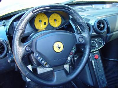 Int rieur ferrari enzo italia cars for Interieur ferrari