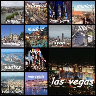 A Quel Ville Prefererez Tu Allez??? ;D