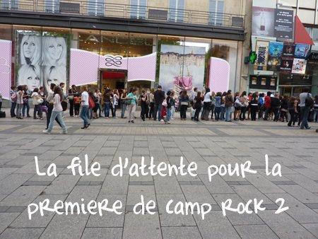 Première Française et avis : Camp Rock 2