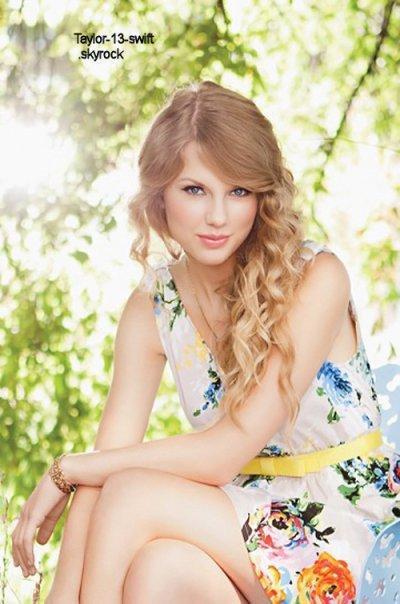 Voici une nouvelle photo du photoshoot pour le Speak Now World Tour Book , Taylor y est juste resplendissante.