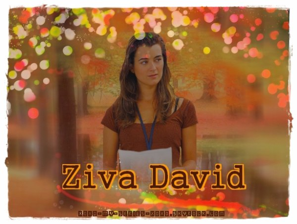 >>Fiche Personnage NCIS: Ziva David