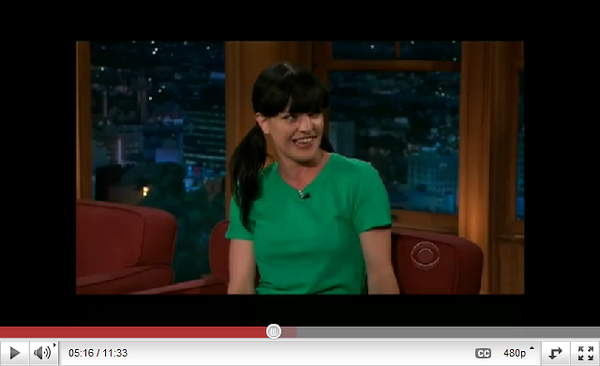 >>Pauley for Expedia & at the Late Late Show (4/5/11) & Mark's interview