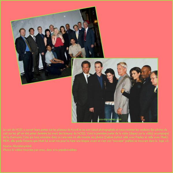 >>NCIS Set Visit ( le 4/04/11)
