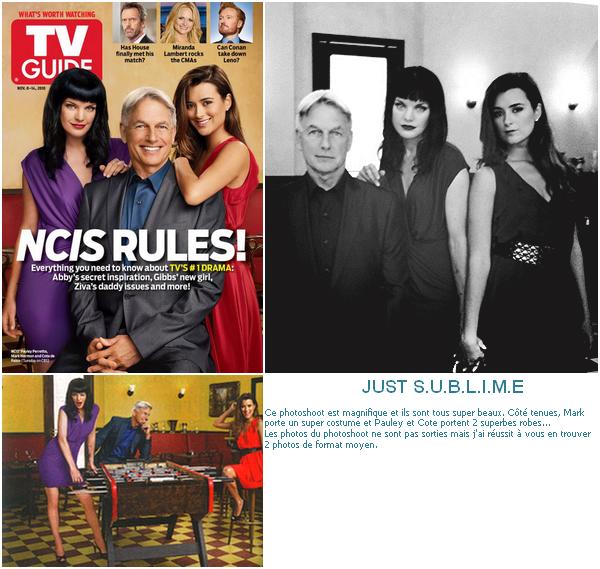 >>Pauley confesses all for TV Guide Magazine+zoom sur un photoshoot pour TV Guide