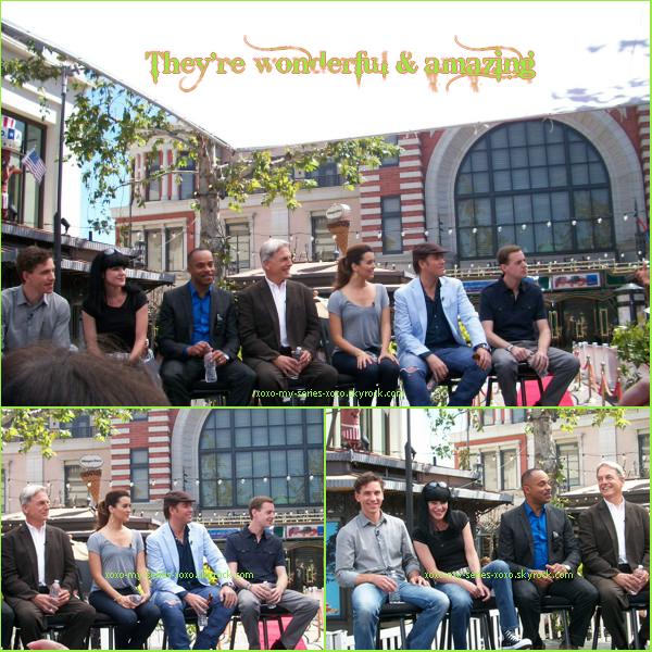 >>NCIS Cast at the Grove LA: pics+video