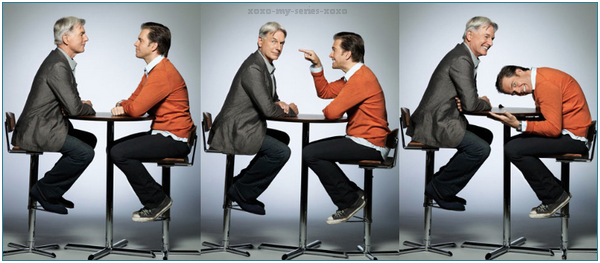 >>Mark Harmon & Michael Weatherly for TVGuide Magazine (PART 2: WOW, I love them!)