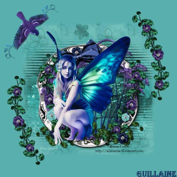 Comme un papillon je m'envole vers vous pour vous souhaiter un bon début de semaine mais amis(ies) bisous de fleur-de-lys.