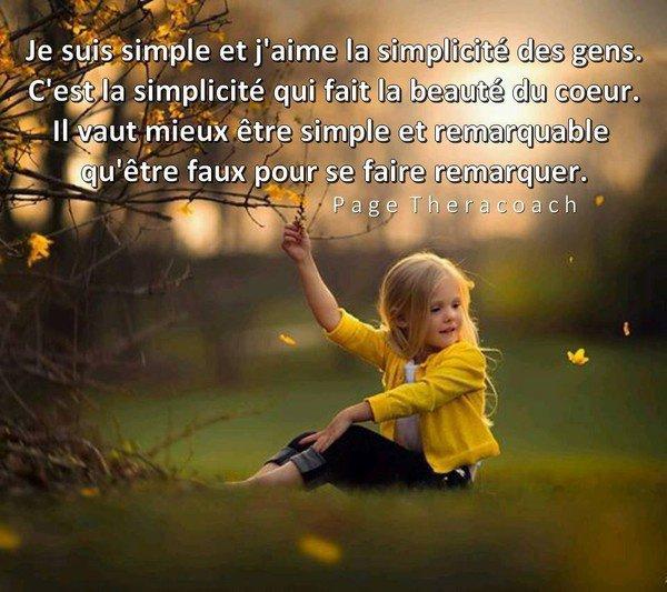 oui j'aime la simplicité !!
