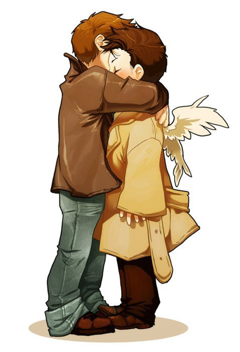 Les Destiel !!! (Dean et Castiel )
