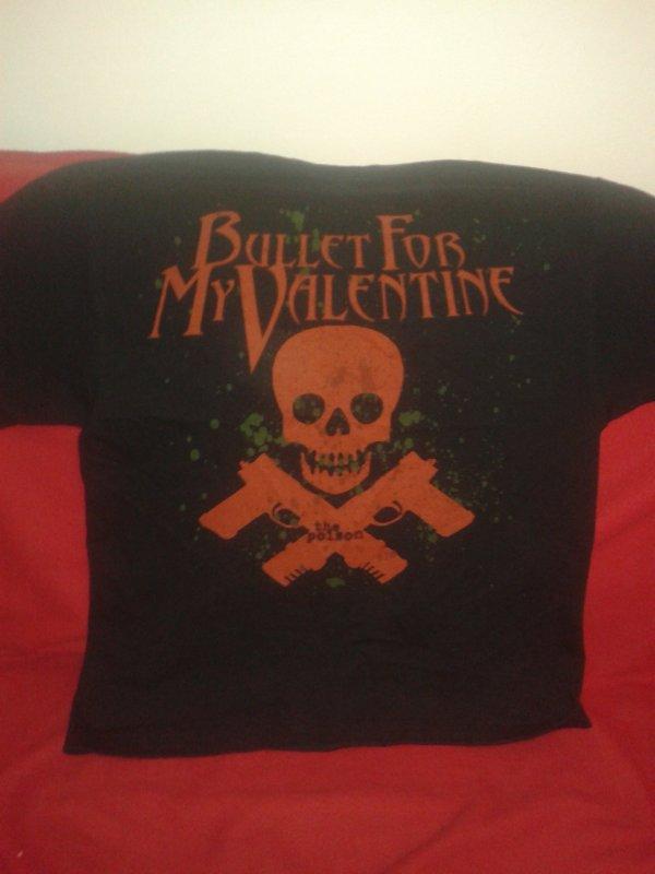Tee shirt Bullet For My Valentine . ♥ Mon nouveau bébé x')