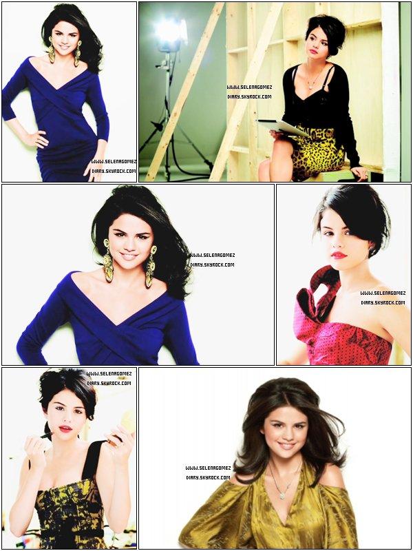 .  Je partage avec vous ce magnifique Photoshoot du Latina Magazine où Selena y paraît sublime. .  Je trouve qu'il y a beaucoup trop de luminosité dans les photos et vous ? .  Petit + : Nous avons aussi droit au Back-stage du  Photoshoot que vous pouvez regarder ici .