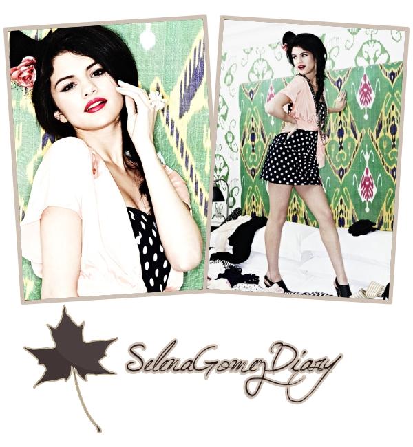 .  09.11.10_ _Selena a donné une interview pour Extra, en Californie avec Marion Lopez. .  Mon opinion se résume en 3 mots...Elle est splendide ! .