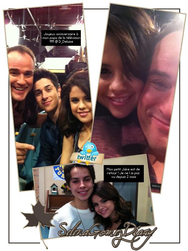 .  Pause Twitter : Selena a posté ces photos accompagnées de petits mots. .  Tiens, il paraît que quelqu'un a fêté son anniversaire ces derniers jours dans la famille WOWP ;) .