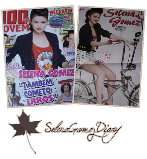 .  Des scans du magazine 100% JOVEM dont Selly fait la couverture ! .