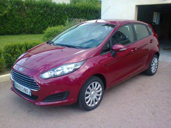 Nouvelle tuture Ford Fiesta