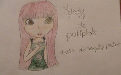 Dessin de Melody ( Pullip Celseiy ) de Pulliplola