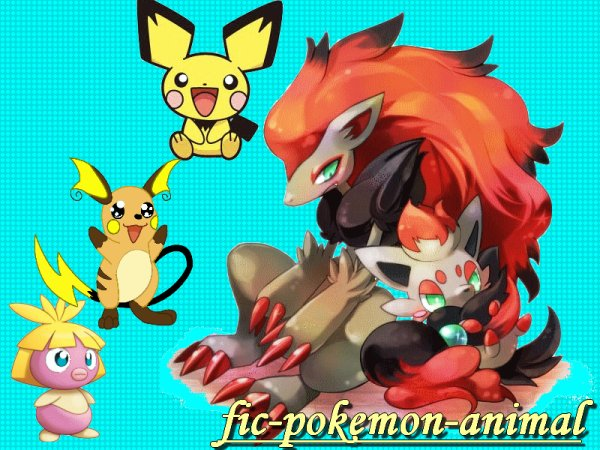 bienvenu sur fic-pokemon-animal