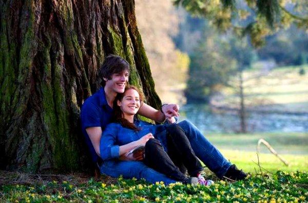 Quand je suis avec toi je suis plus calme, je respire plus lentement, même si mon c½ur bat plus vite.